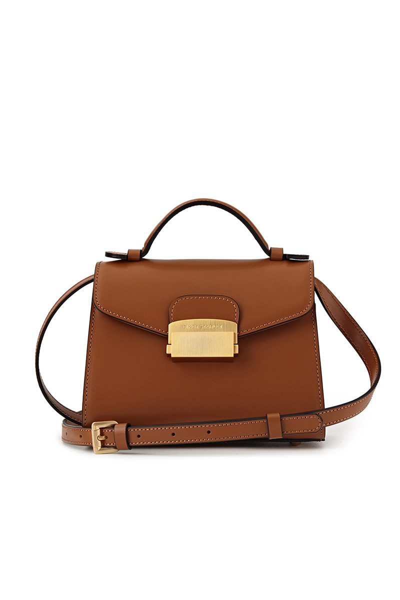 DOCTOR'S BAG MINI TAN BROWN